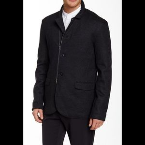 John Varvatos knit jacket size 48